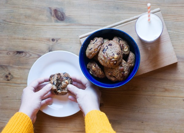 Rye cookies