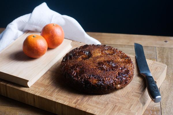 blood orange hazelnut burnt butter cardamom cake wheat free spelt flour caramel seasonal cake january february