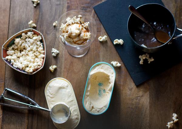 popcorn ice cream recipe corn salted cinema sweet buttered popcorn frozen custard