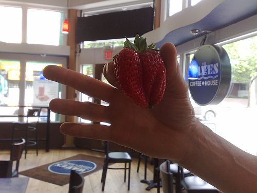 Big strawberry 2