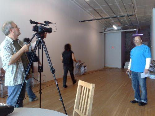 Kaleidoscope Filming 3