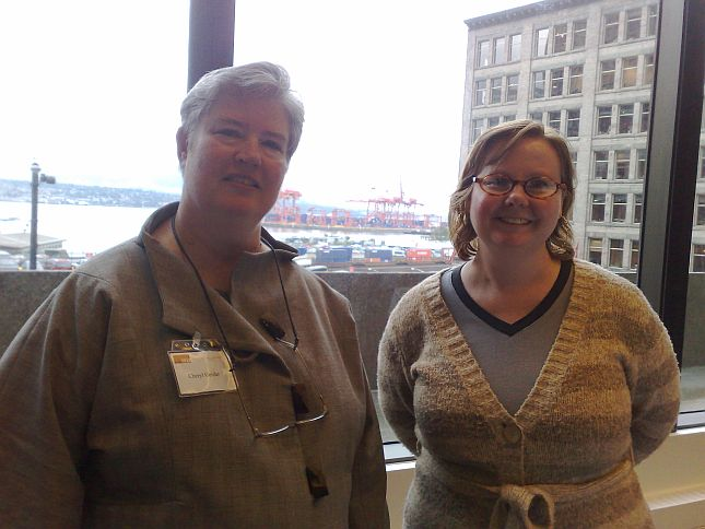 45 SFU Luncheon for Dr Cheryl Geisler, New Dean of Communication, Art & Technology