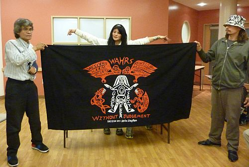 Alvin and the WAHRS Banner