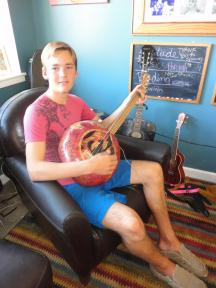 Nick and Guitar Gourd