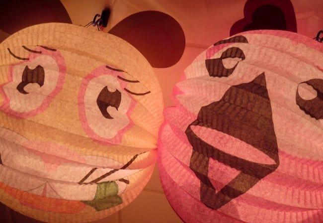 Colourful Sint Maartens Lanterns