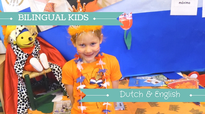 Image of Dutch Girl Dressed in orange