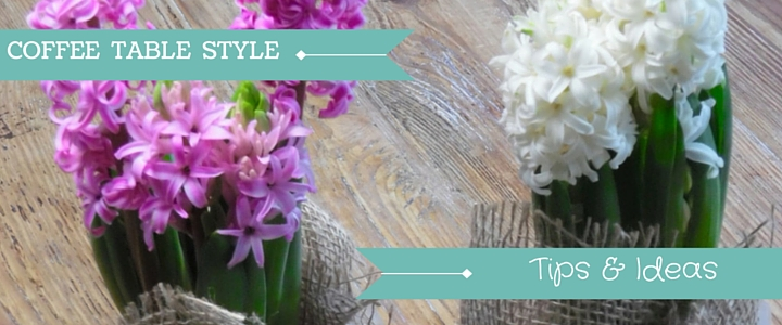Coffee Table With Hyacinths