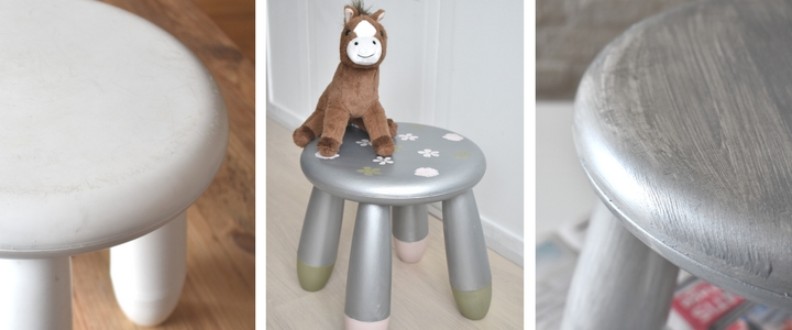 DIY Ikea Mammut Stool Makeover