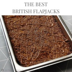 British Flapjacks: A delicious tried and tested recipe that the kids absolutely love (and can make themselves).