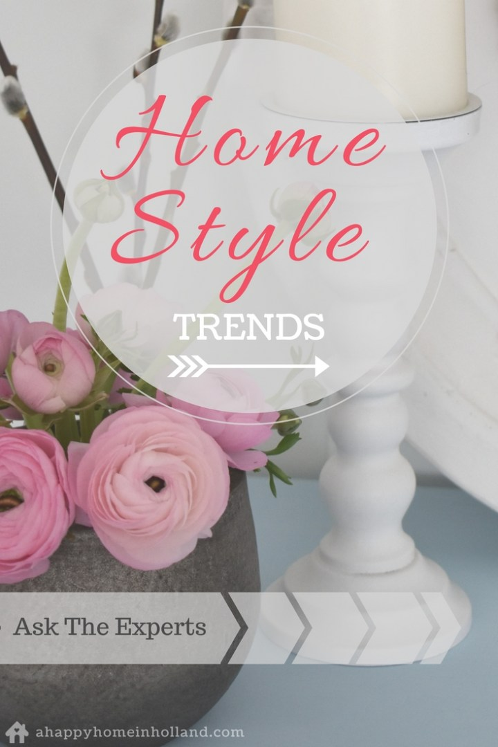 Home Decor Style Trends - 16 Expert Home Decor Bloggers Give Their Views And Share Their Favourite Interior Decor Styles And Trends