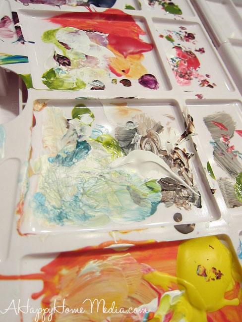 acrylic paints art journaling