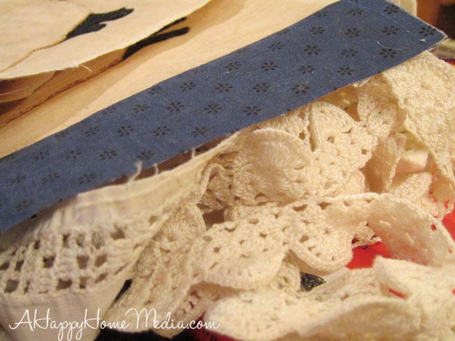 scraps crazy quilt