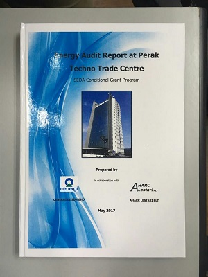 ENERGY AUDIT REPORT AT PTTC