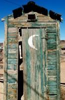 Half moon door