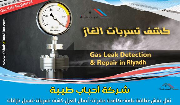 صورة شركة كشف تسربات الغاز المركزي بالرياض مع الضمان