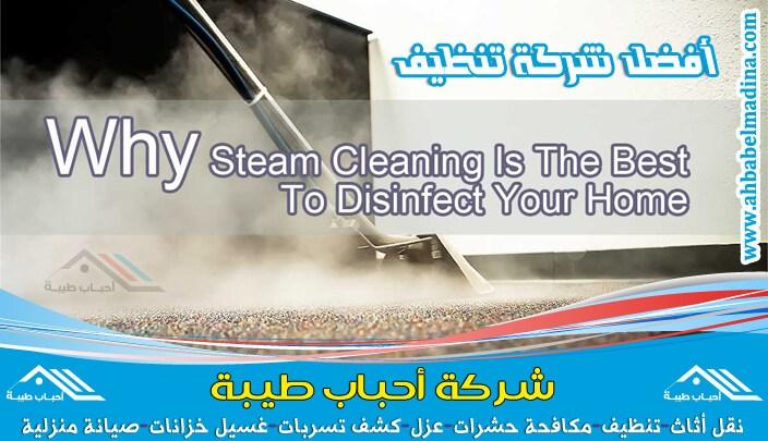 صورة شركة تنظيف بالبخار بالطائف وتنظيف سجاد وستائر بالبخار