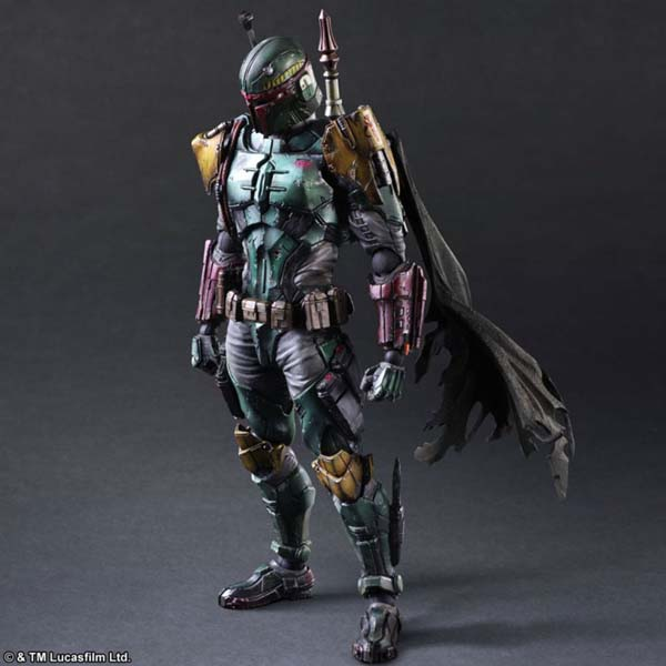 Square Star Wars Boba Fett Figure
