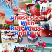 Ahbessed with Red White and Blue