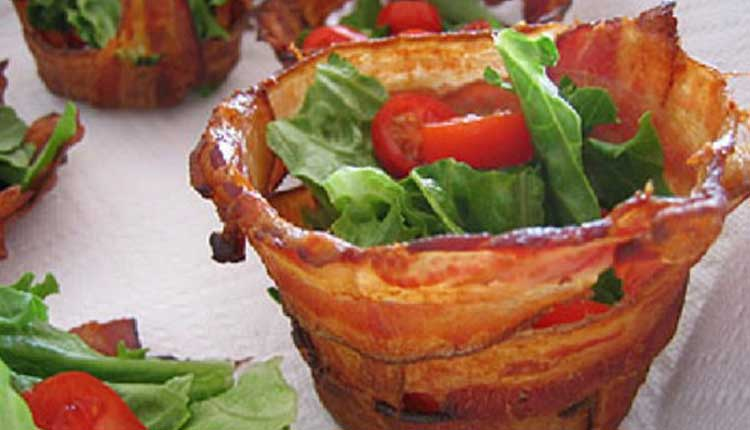 Bacon Cups