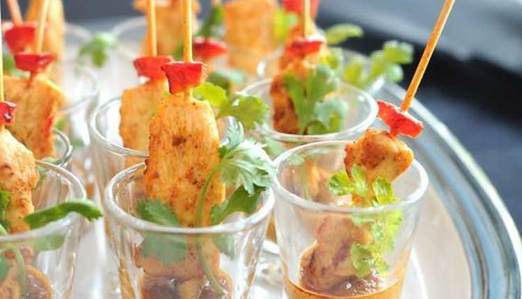 Thai Satay Stick Party Appetizer