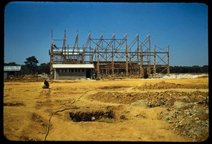 Copper Belt, Cu refinery Ndola. Image from the Thomas C. Denton papers, American Heritage Center.