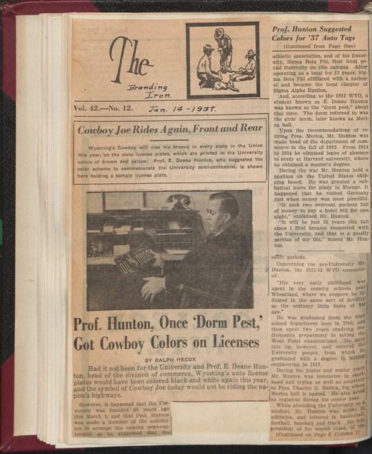 newpaper article