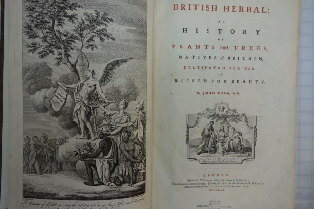 Inside look of The British Herbal: an History of Plants and Tree, Natives of Britain, cultivated for Use or raised for Beauty book