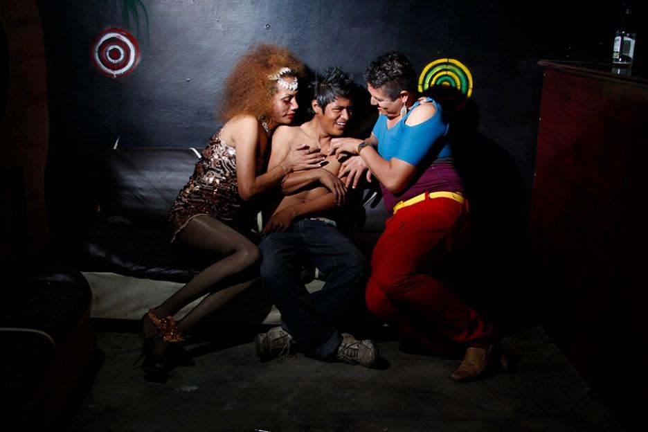 Los amantes 1 Foto Nelson Morales