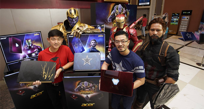Infinity War, Marvel, Acer, Gaming Notebook, Limited Edition