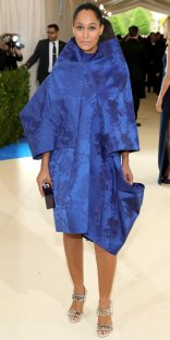 """NEW YORK, NY - MAY 01: Tracee Ellis Ross attends the """"Rei Kawakubo/Comme des Garcons: Art Of The In-Between"""" Costume Institute Gala at Metropolitan Museum of Art on May 1, 2017 in New York City. (Photo by Neilson Barnard/Getty Images)"""