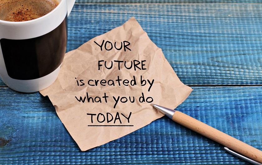 Do not predict future - small