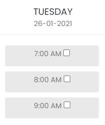 doctor schedule 4