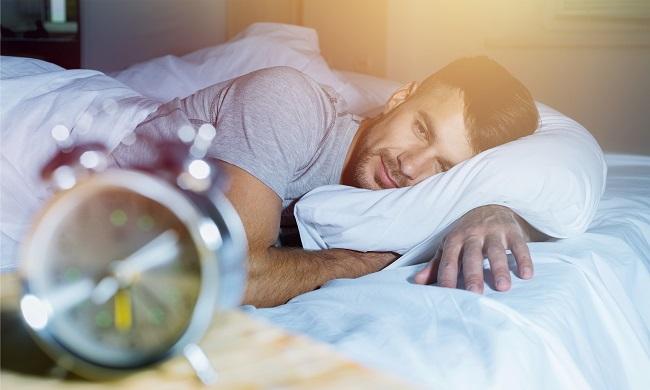 peaceful sleeping environment