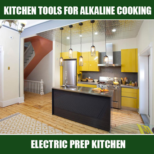 ELECTRIC PREP KITCHEN