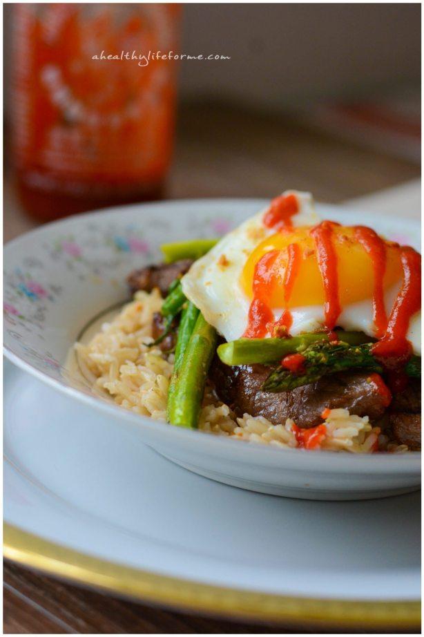 Gluten Free Korean Rice Bowl Recipe