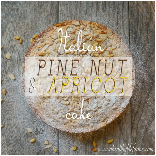 Gluten Free Dairy Free Italian Pine Nut and Apricot Cake