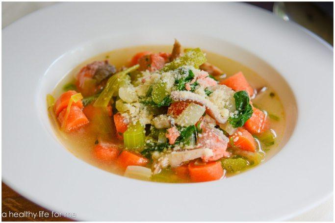 Poached Salmon Soup 2