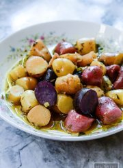 Italian Potato Salad Recipe | ahealthylifeforme.com
