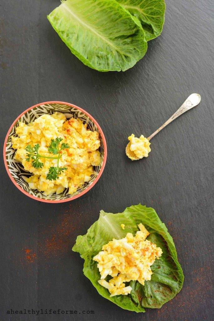 Perfect Egg Salad Recipe that is quick and easy to prepare and packed with protein | ahealthylifeforme.com