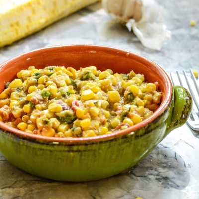 Spicy Corn Succotash