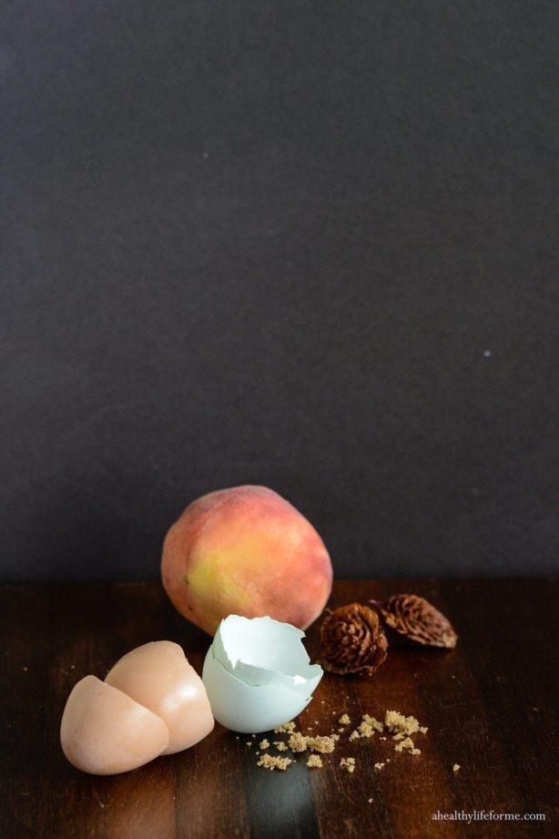 Peach Cupcake with Brown Sugar Frosting   ahealthylifeforme.com