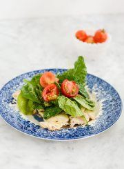 Chicken Paillard and Lemon Salad Recipe is gluten free, dairy free paleo and ready in under 30 minutes | ahealthylifeforme.com