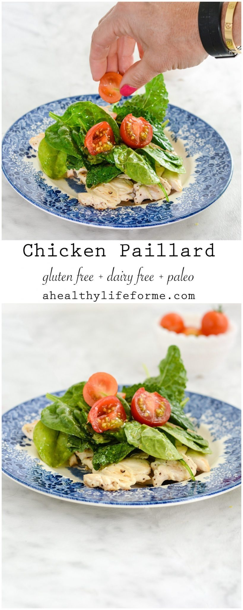 Chicken Paillard With Lemon Salad A Healthy Life For Me