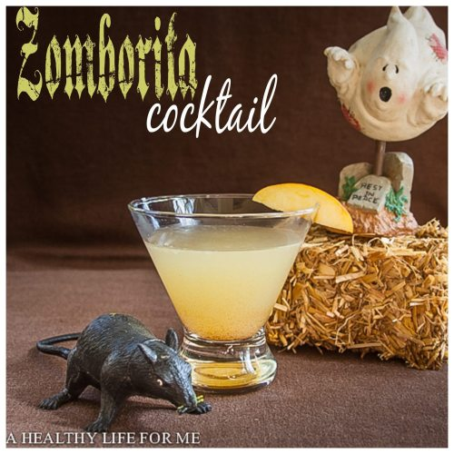 zomborita cocktail recipe for halloween | ahealthylifeforme.com