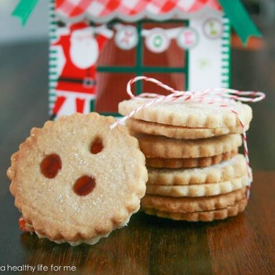 Drei Augen a German Shortbread Cookie
