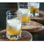 Licor 43 with cream makes a Little Beer Shot