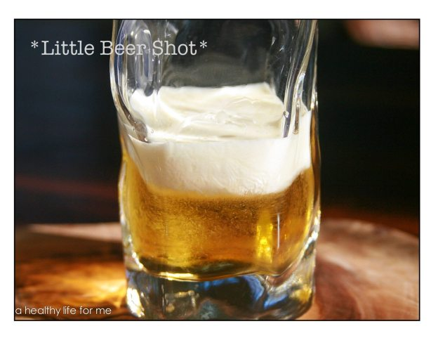 Little Beer Shot with Licor 43