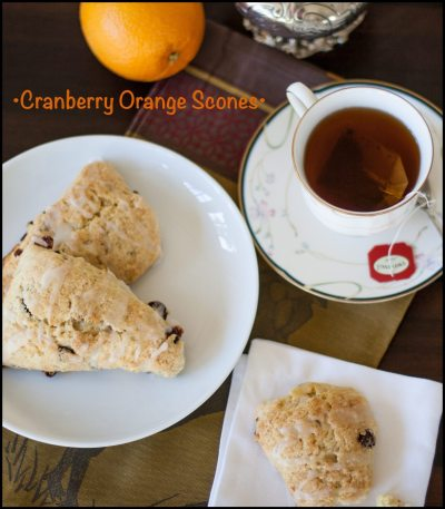 How to Make Cranberry Orange Scone Recipe | ahealthylifeforme.com