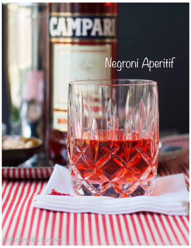 Negroni Aperitif Recipe