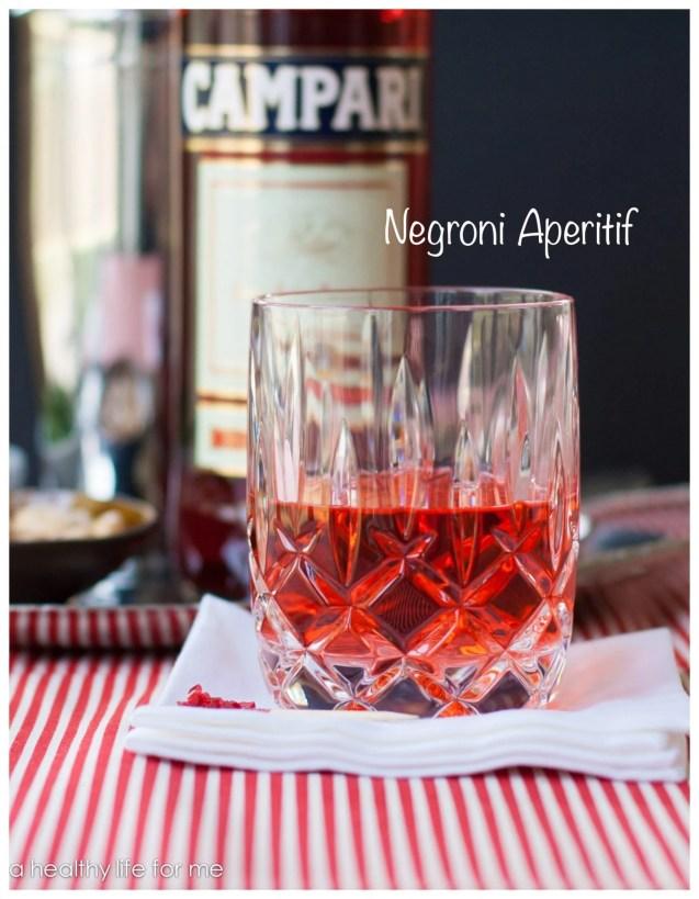 Campari, Gin, Sweet Vermouth